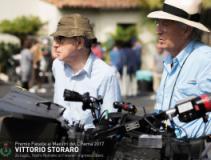 Vittorio Storaro sulla locandina del premio Fiesole
