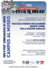 Manifesto Campus al Museo di Villa Pecori Giraldi