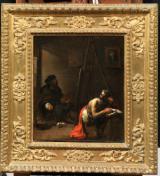 Autoritratto nello studio di Michelangelo Cerquozzi