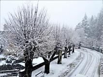 Palazzuolo sul Senio disagi a causa della neve