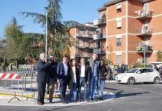 Inaugurazione rotonda di via Bugiardini