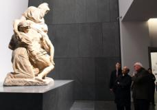 L'Ambasciatore degli Stati Uniti d'America, Lewis M. Eisenberg, visita l'Opera del Duomo