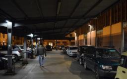 Nuova illuminazione pensiline mercato di Sant'Ambrogio