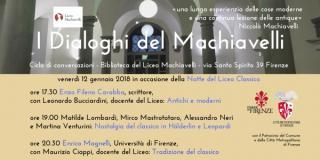 "I ""Dialoghi del Machiavelli"""