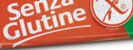 Etichetta di alimenti senza glutine