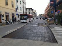 Piano buche, rinviata l'asfaltatura in piazza Stazione: oggi si lavora in via D'Annunzio