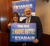 Presentazione Ryanair a Pisa