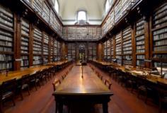 Salone di lettura della Biblioteca Marucelliana