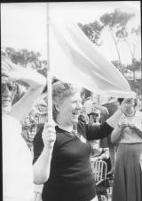 Varisa Volterrani a una manifestazione