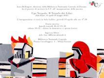 Invito mostra 'Ugo Nespolo: il trionfo dei libri'