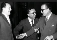 Ettore Bernabei con Giorgio La Pira