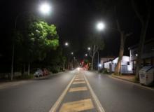 Nuovi lampioni in via Pistoiese