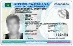 Carta Identità - Fonte Foto Ministero dell'Interno