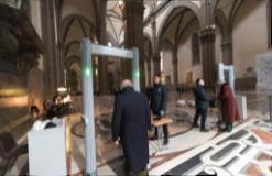 Metal detector ingresso Duomo (fonte foto comunicato stampa)