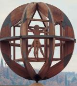 Uomo Vitruviano - Vinci - opera di Mario Ceroli