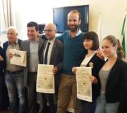 """L'Assessore Vannucci e il Presidente del Quartiere 3 Esposito alla presentazione de """"La Certosina"""""""