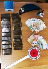 Materiale sequestrato (fonte foto comunicato stampa)