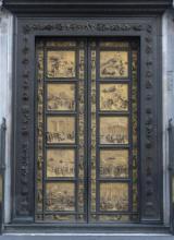 Porta del Paradiso di Lorenzo Ghiberti del Battistero di Firenze (Fonte foto Opera del Duomo)