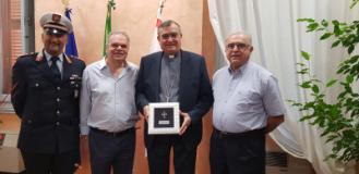 Il sindaco Lorenzini incontra il vescovo di Prato Agostinelli
