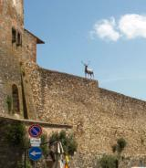 Mura di San Casciano Val di Pesa in una immagine dal sito della pro loco