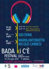 Locandina Bada Ki c'e' Festival