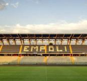 Lo stadio Castellani sul sito dell'Empoli F.C.