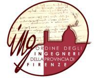 Logo Ordine degli ingegneri della provincia di Firenze