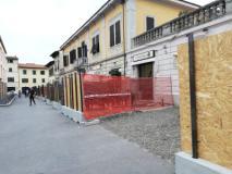 lavori in piazza Montanelli