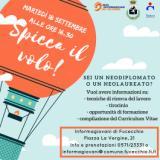Spicca il volo e servizio civile universale - locandina