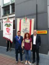 Presidio lavoratori Bekaert a Milano (FontefotoMarcoZatini)