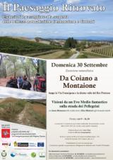 Da Coiano a Montaione - locandina