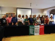 Delegazione di dipendenti del Mininterno in Prefettura a Firenze