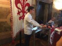 Il Sindaco Dario Nardella alla presentazione della campagna della Cna patrocinata dalla Città Metropolitana di Firenze