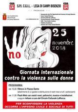 Giornata Mondiale per l'eliminazione della violenza contro le donne