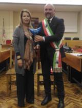 Il Prefetto Laura Lega in visita a Montelupo Fiorentino