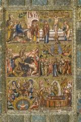 Presentazione del restauro del dittico in micromosaico bizantino