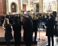 MET - Festa in Santa Croce per il Michelangelo (di Vasari