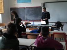polizia municipale a scuola