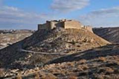 castello di Shawbak in Giordania.