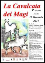 Locandina Calvalcata dei Magi Borgo San Lorenzo