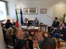 Il Ministro per le Politiche agricole alimentari, forestali e del Turismo in visita alla Prefettura