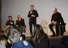 Il sindaco Nardella con Pieraccioni, Conti e Panariello