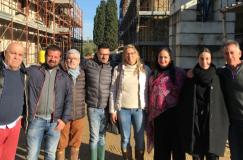 Sindaco in visita a Villa Petriolo