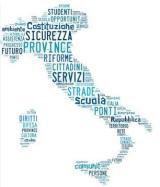 Grafica per la XXXIV Assemblea Congressuale dell'Unione delle Province d'Italia