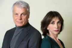 Michele Placido e Anna Bonaiuto in piccoli crimini coniugali - PH.Tommaso Le Pera