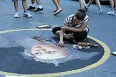 Arti di strada (foto Antonello Serino Redazione di Met)