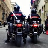 Due albanesi arrestati dai Carabinieri nel centro di Pontassieve (foto Antonello Serino Redazione Met)