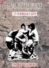 Domenica 17 febbraio torna la partita dell'Assedio