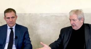 un momento della conferenza stampa del 28 febbraio (foto da comunicato)