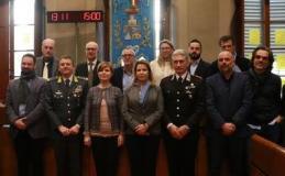 Il Prefetto e i sindaci dell'Empolese Valdelsa al comitato per l'ordine e la sicurezza (foto da comunicato)